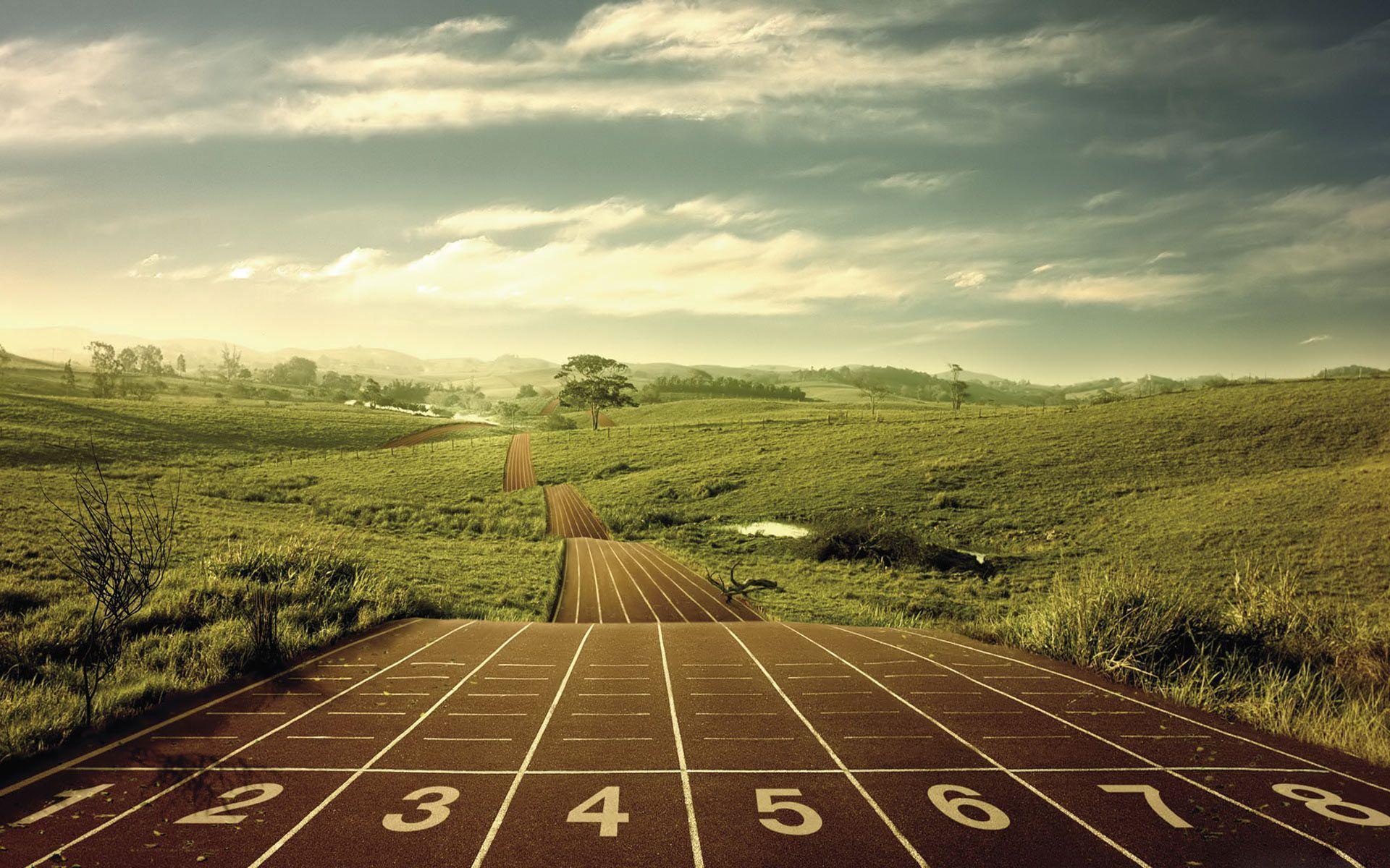 long distance running desktop hd wallpaper high quality