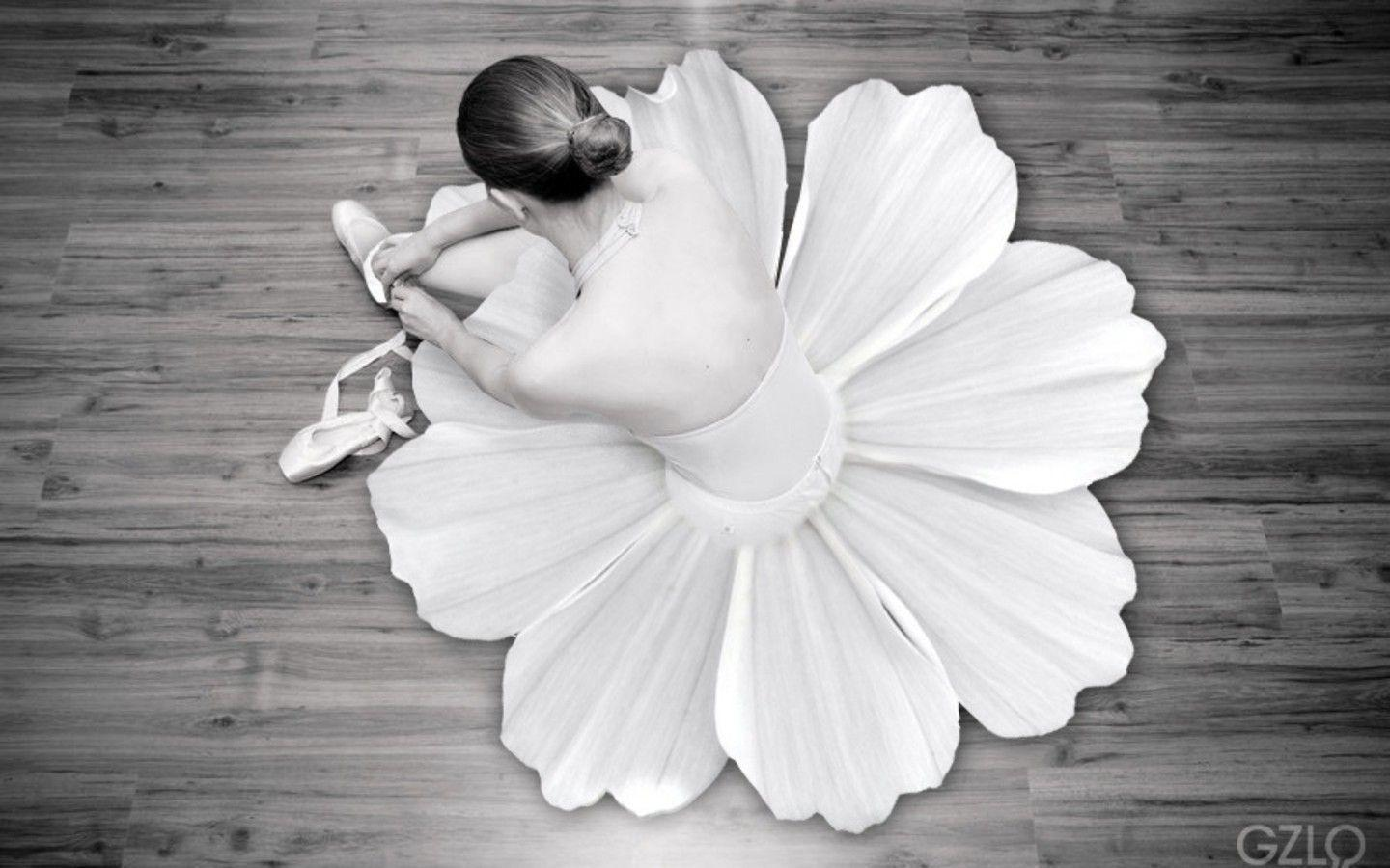 Download Flowers Ballet Wallpapers 1440x900