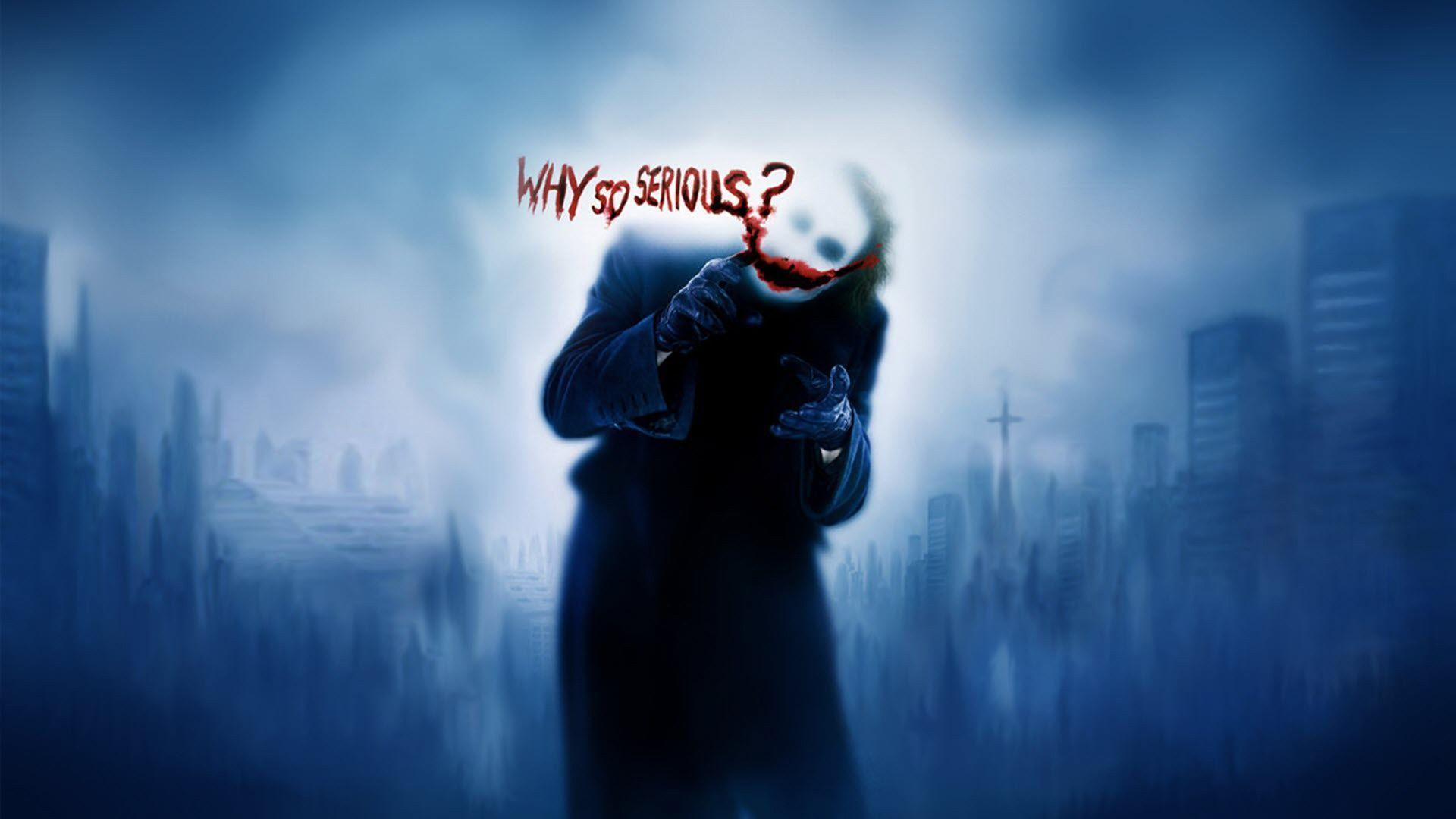 Joker Why So Serious Wallpapers