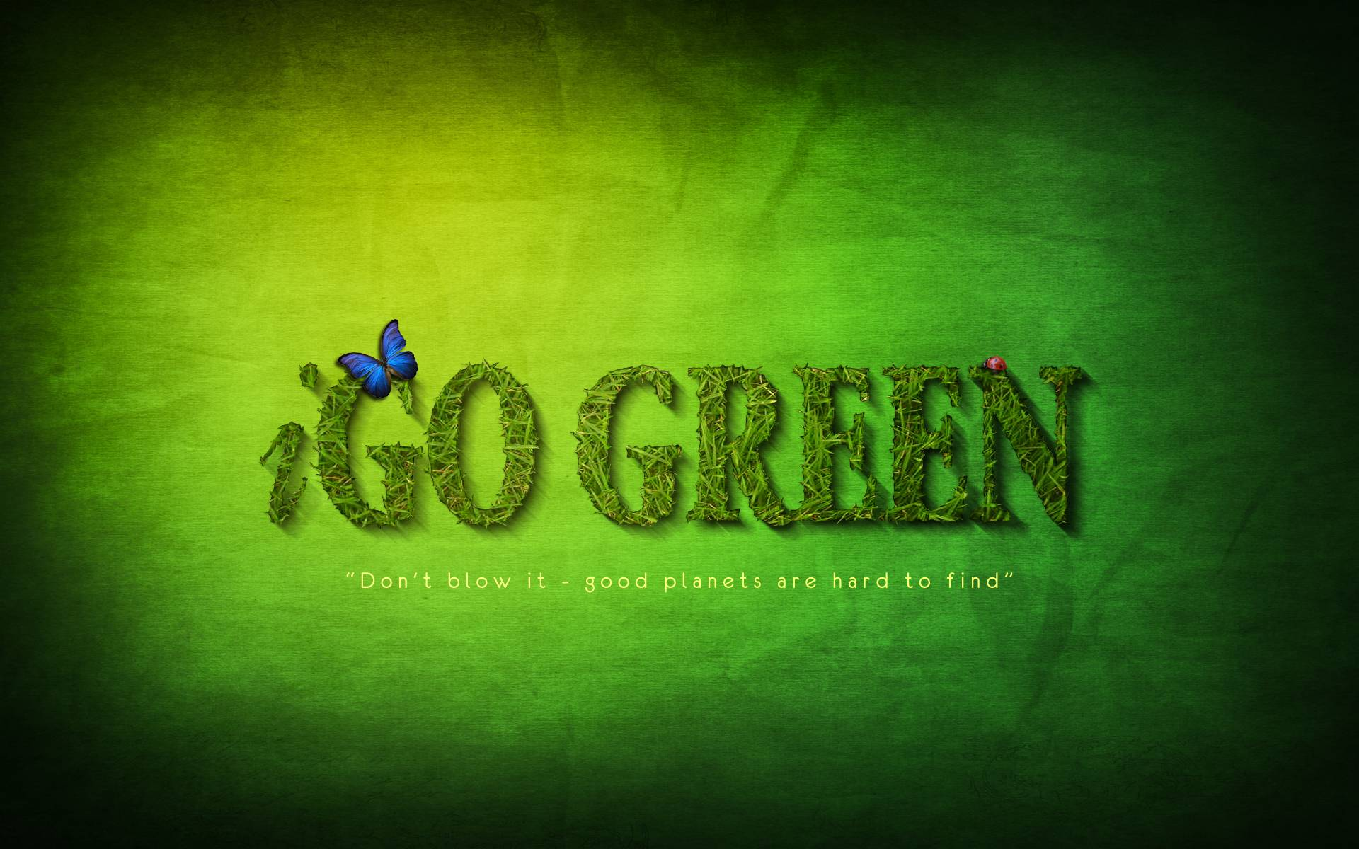 Go Green Wallpapers Wallpaper Cave