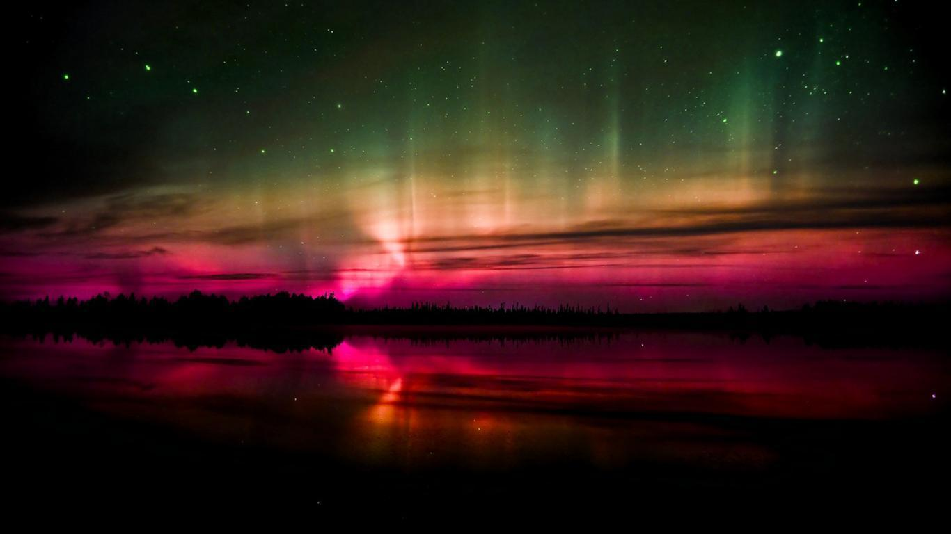 Aurora borealis wallpapers hd wallpaper cave for Foto hd desktop