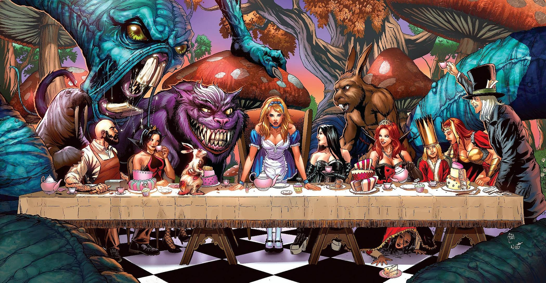 female grimm fairy tales wallpaper - photo #33
