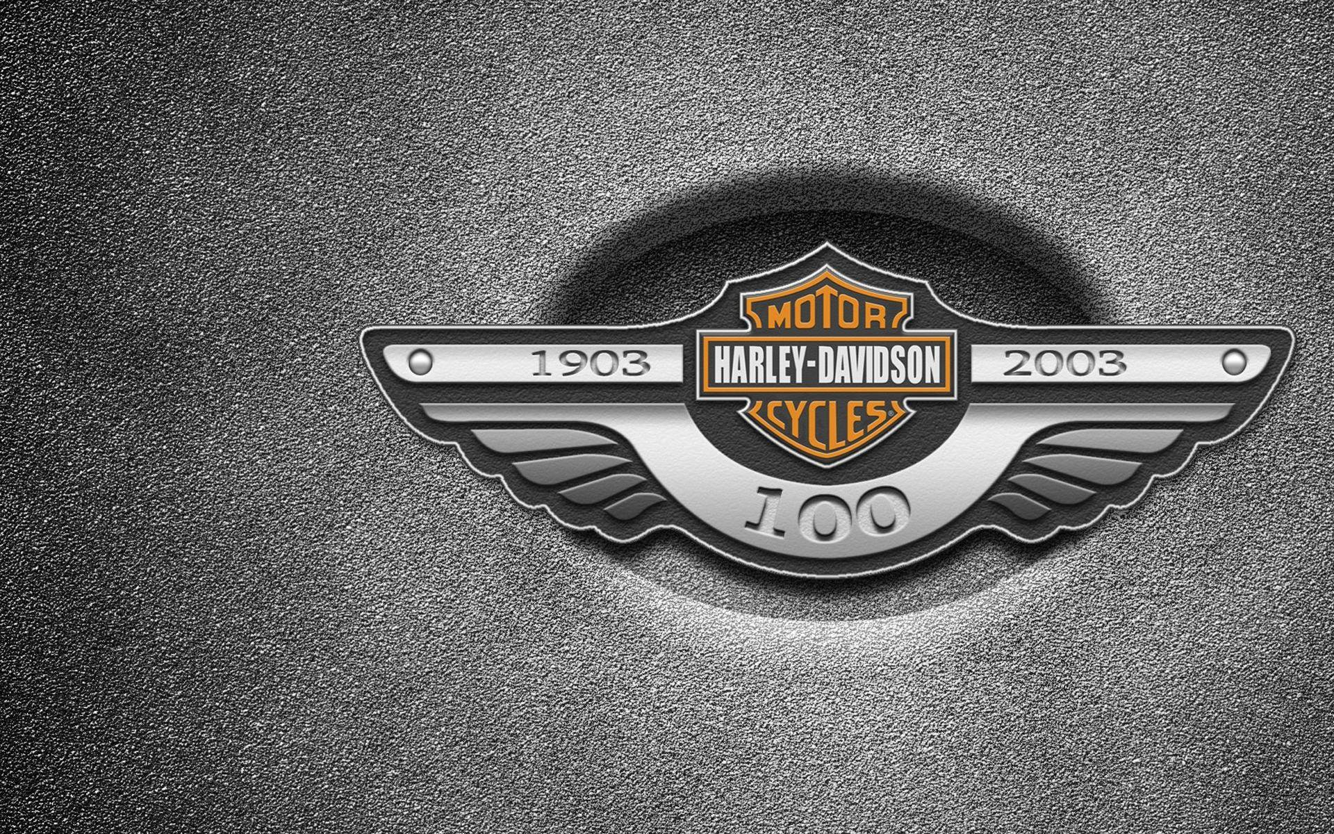 newest harley davidson logo wallpapers - photo #25
