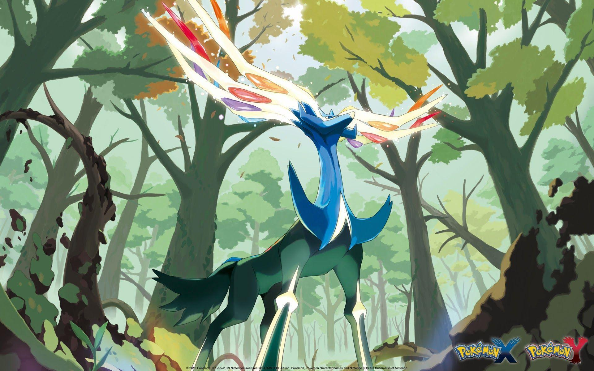 Xerneas Pokemon X and Y a297 HD Wallpapers