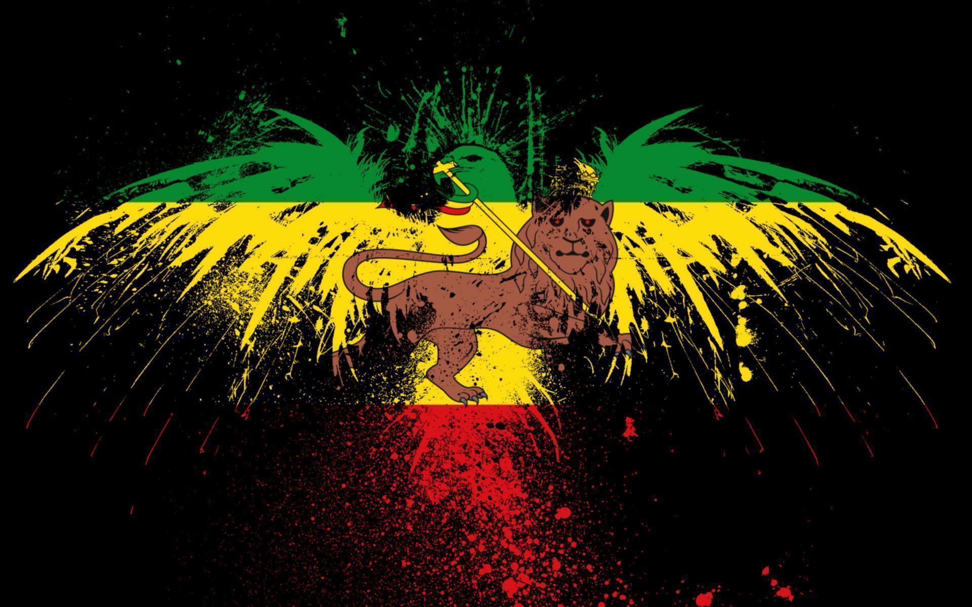 rastafarian lion wallpaper - photo #7