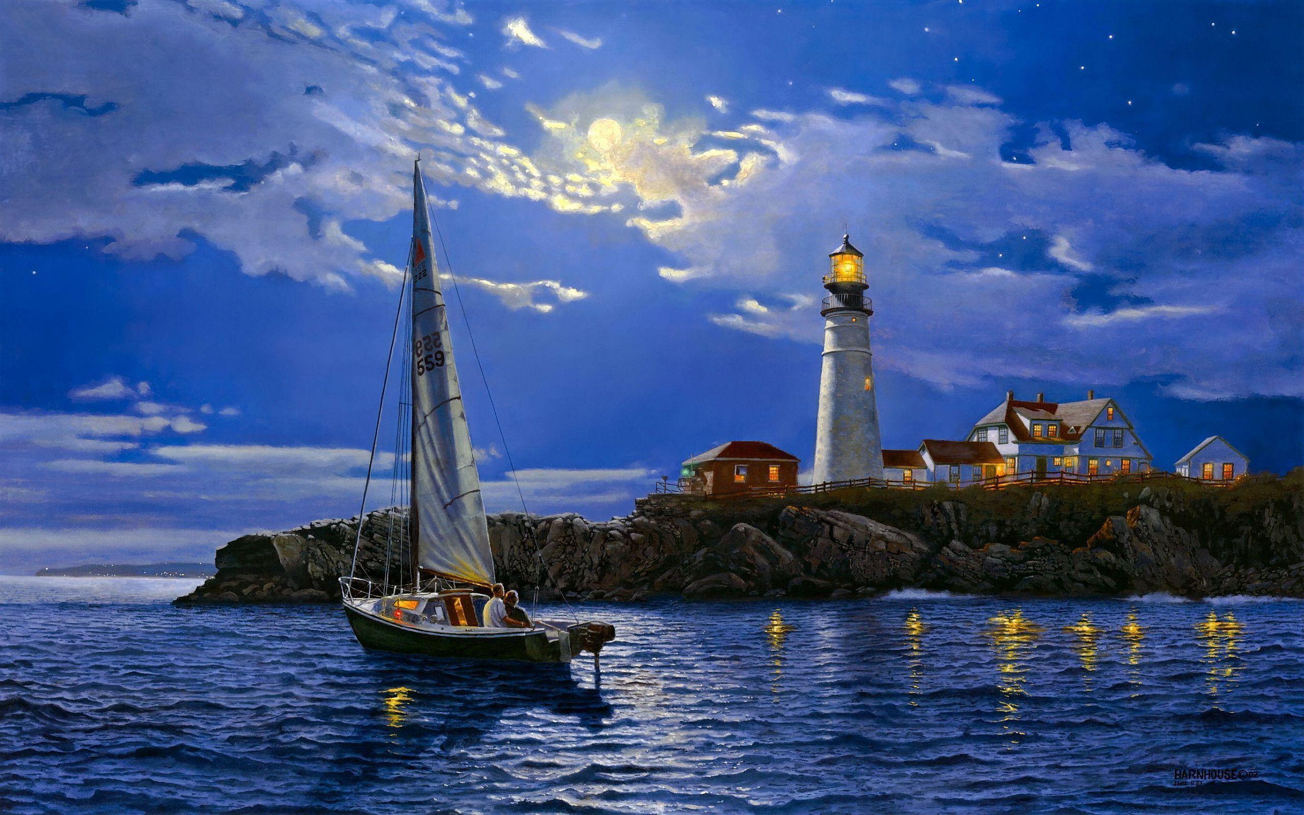 lighthouse desktop wallpaper 7900 - photo #2