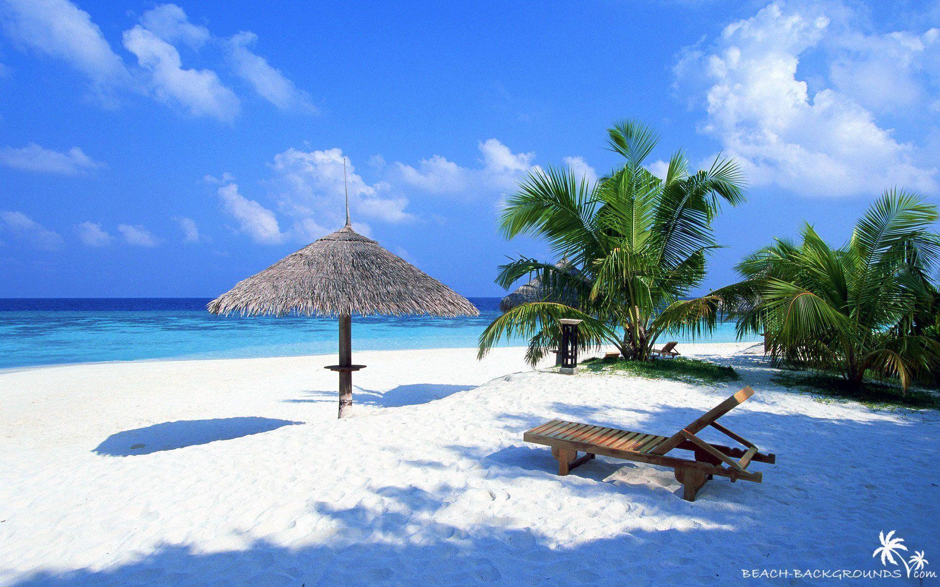 3d beach