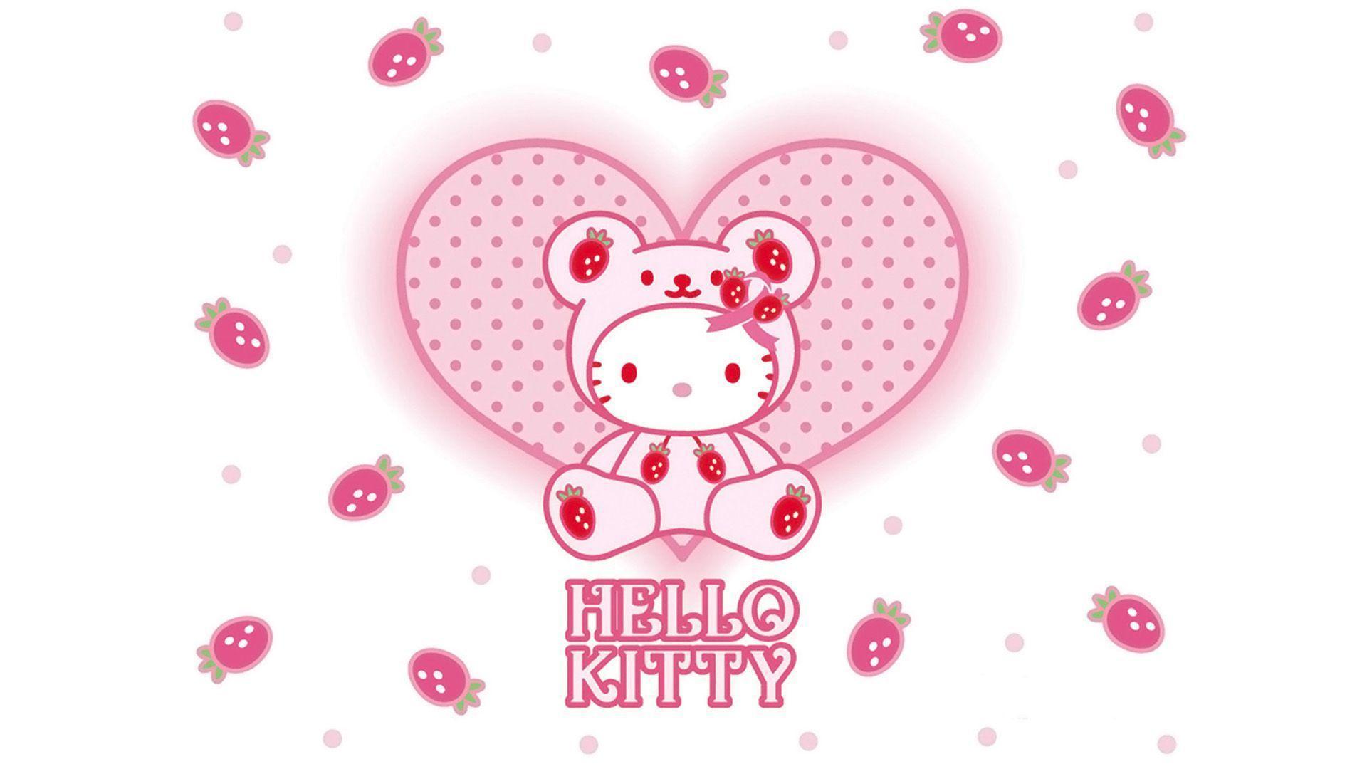 cute pink hello kitty wallpaper - photo #48