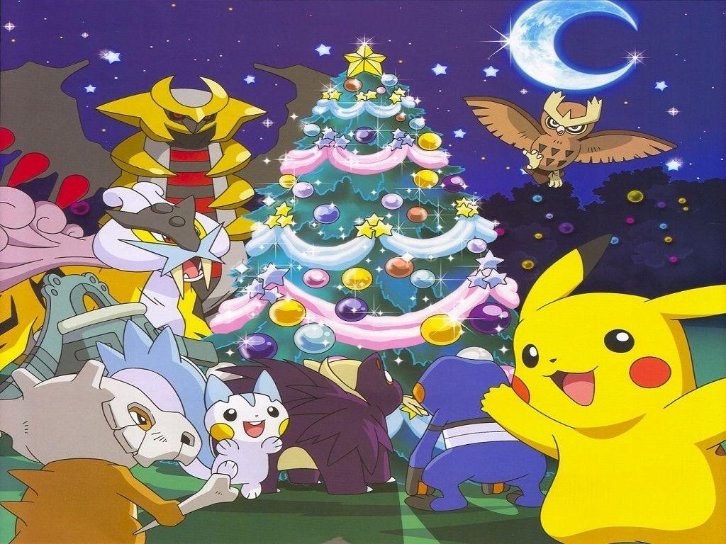 Pokemon Christmas.Pokemon Christmas Wallpapers Wallpaper Cave