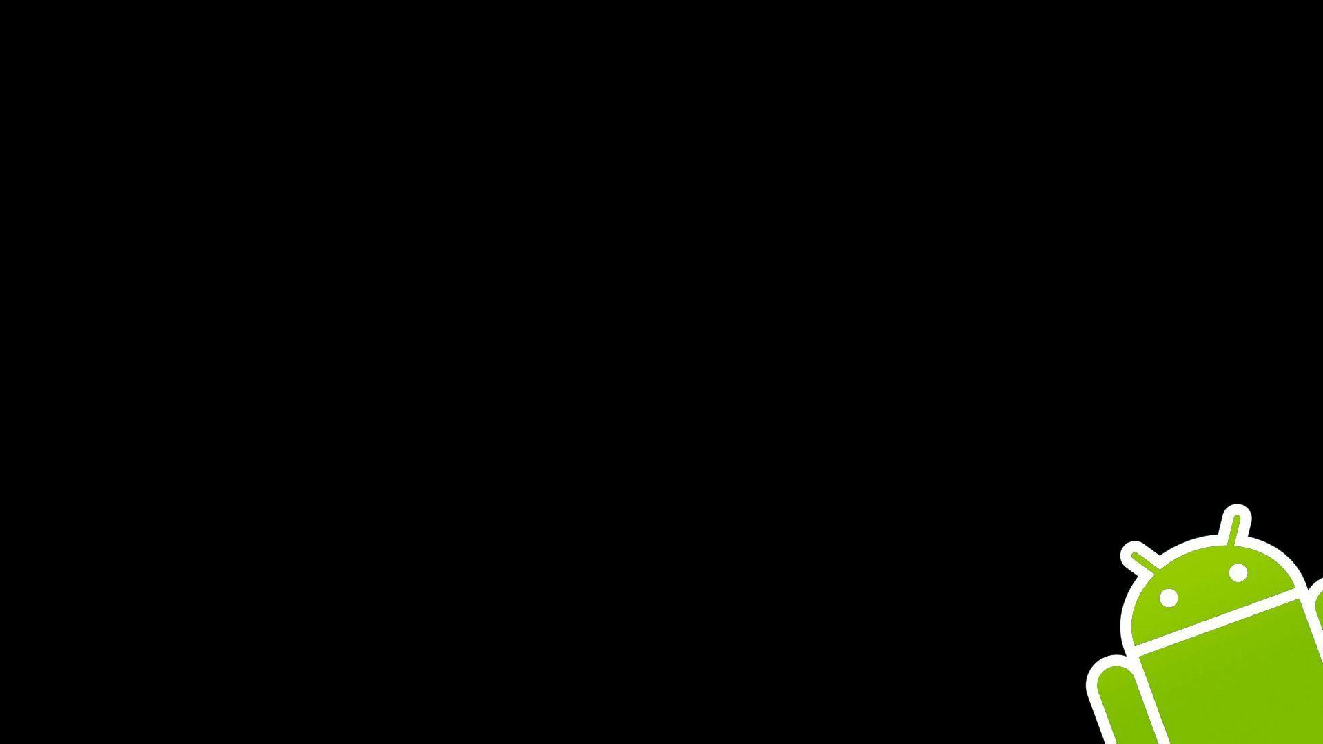 black android wallpaper wallpaper color