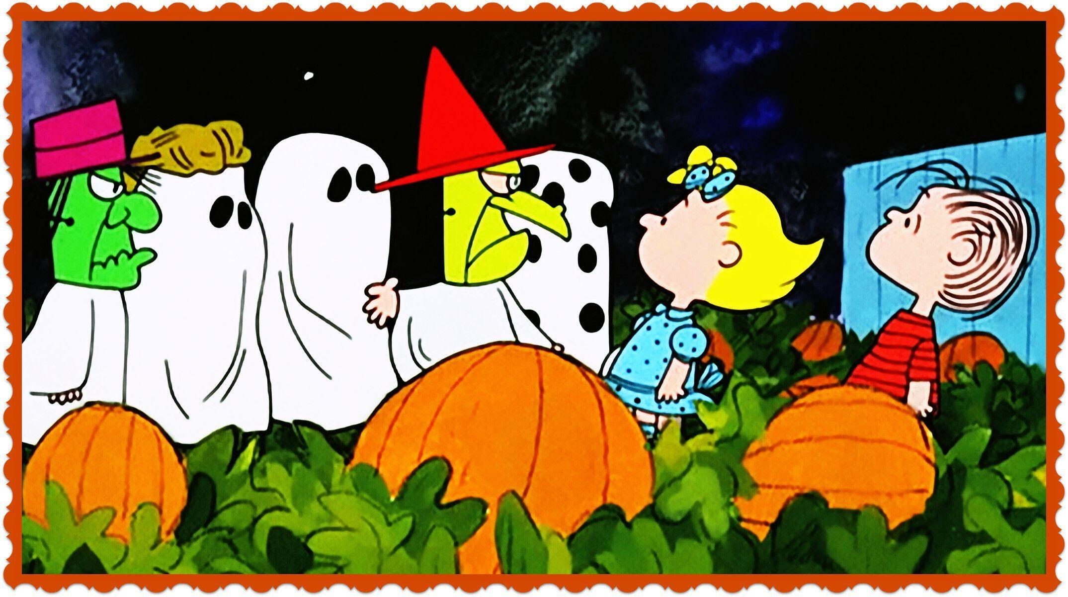Great Pumpkin Charlie Brown Wallpapers Wallpaper Cave