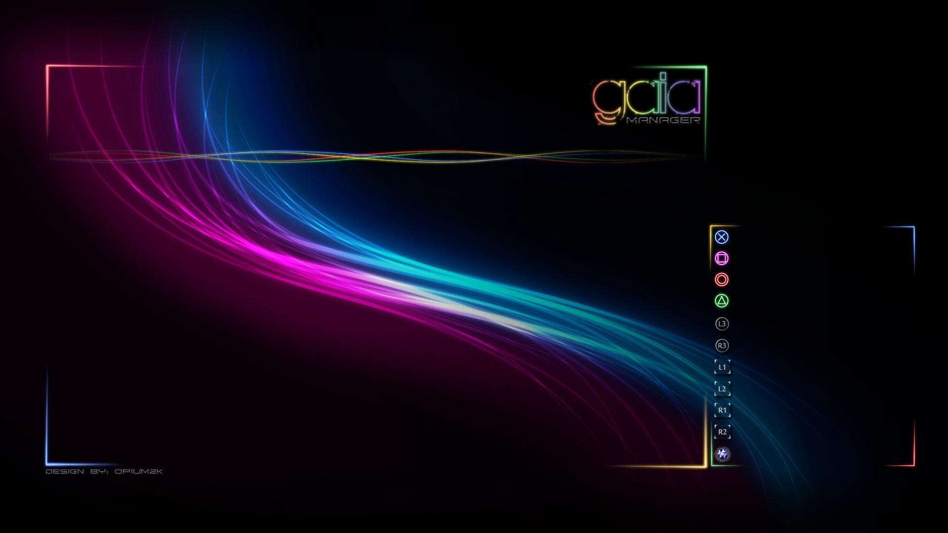 Download Wallpaper x Abstraction Luminous Background