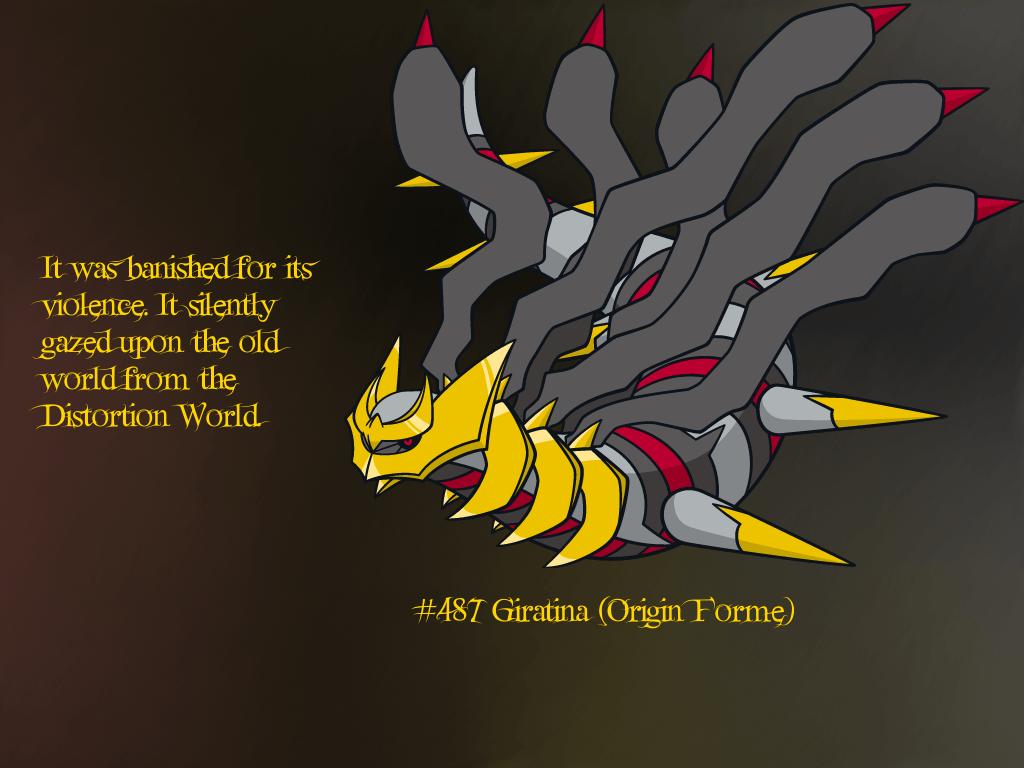 Legendary Pokemon Background Giratina Wallpapers - ...