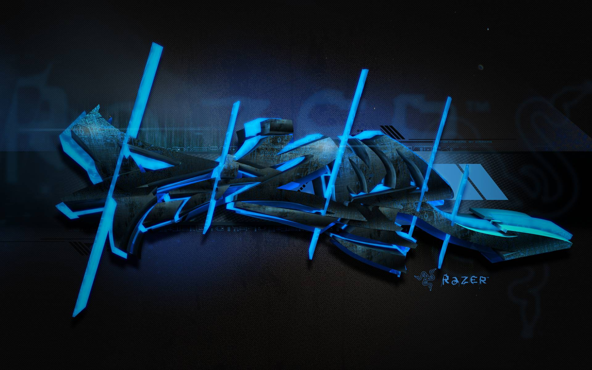 Razer gaming wallpapers wallpaper cave for Graffiti wallpaper