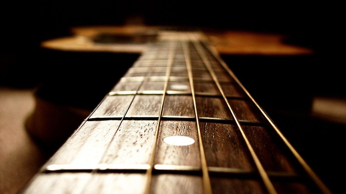 Closeup Acoustic Guitar HD Wallpapers