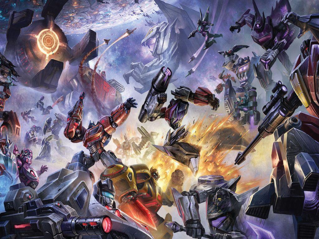 Transformers fall of cybertron wallpaper