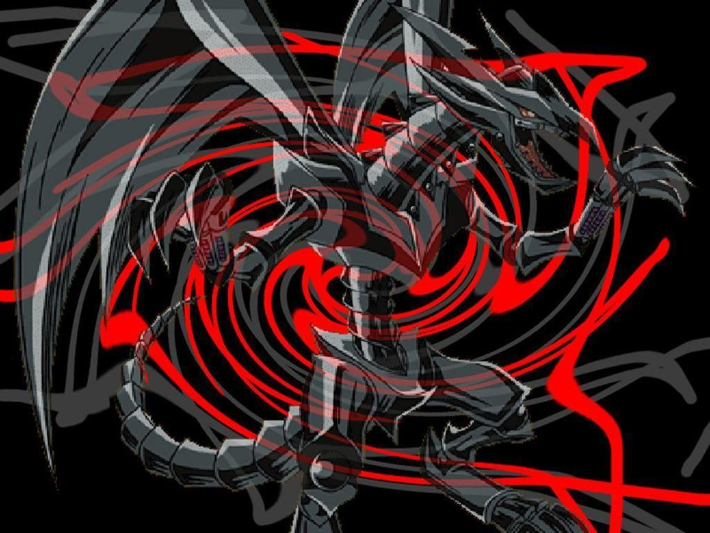 Pix For > Yugioh Red Eyes Black Dragon Wallpapers
