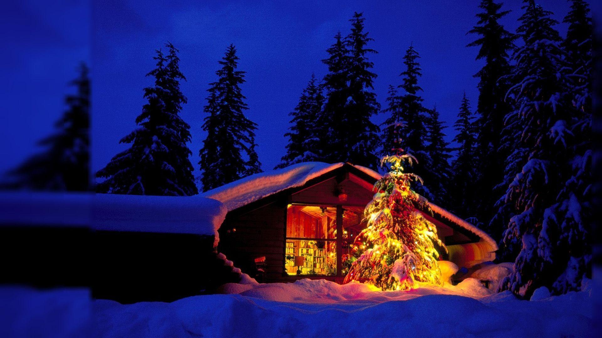 Fondo De Pantalla 3d De Navidad De Santa Vas De Luna Hd: Wallpapers Desktop Christmas