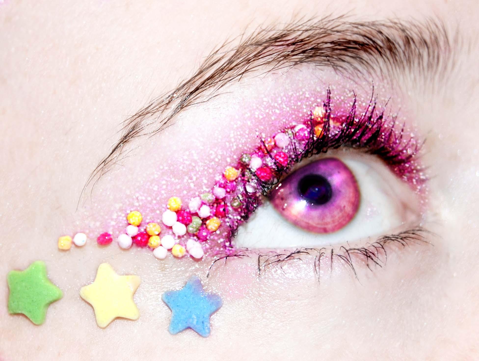 Блестящие глаза как сделать 538