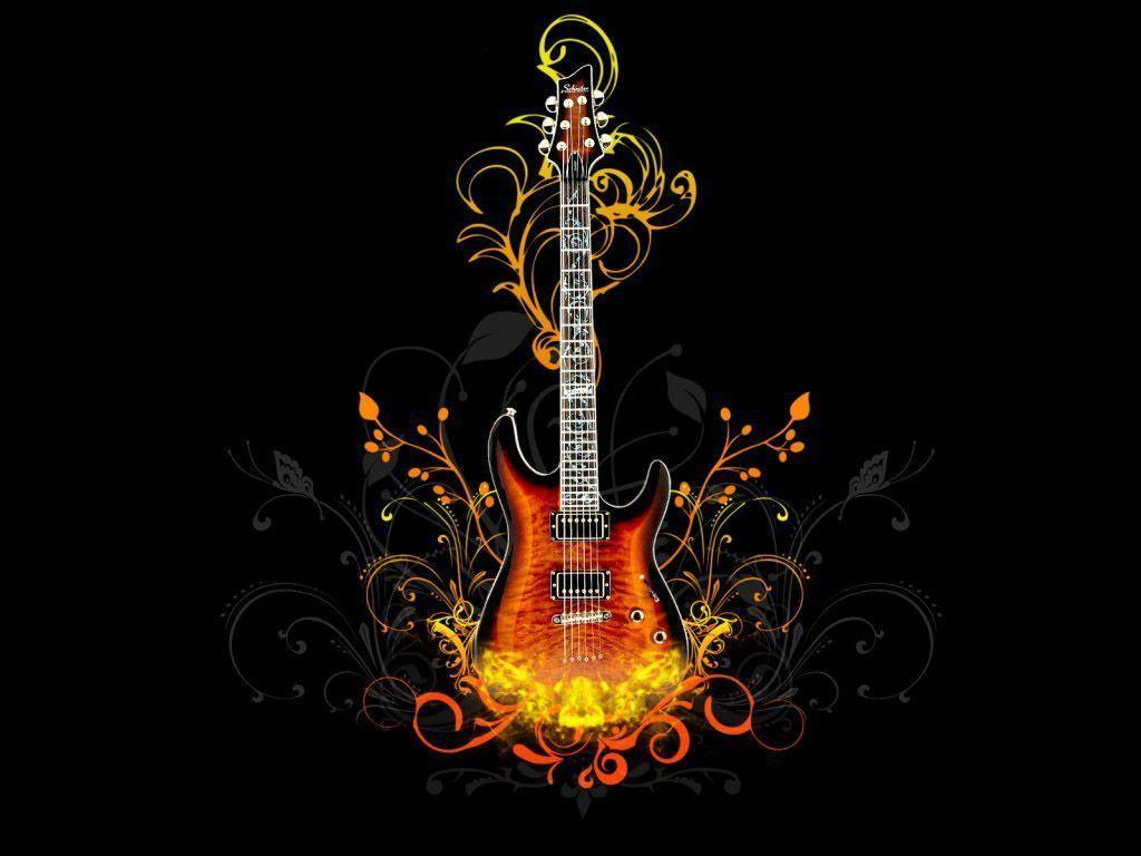 Pix For > Electric Guitar Backgrounds