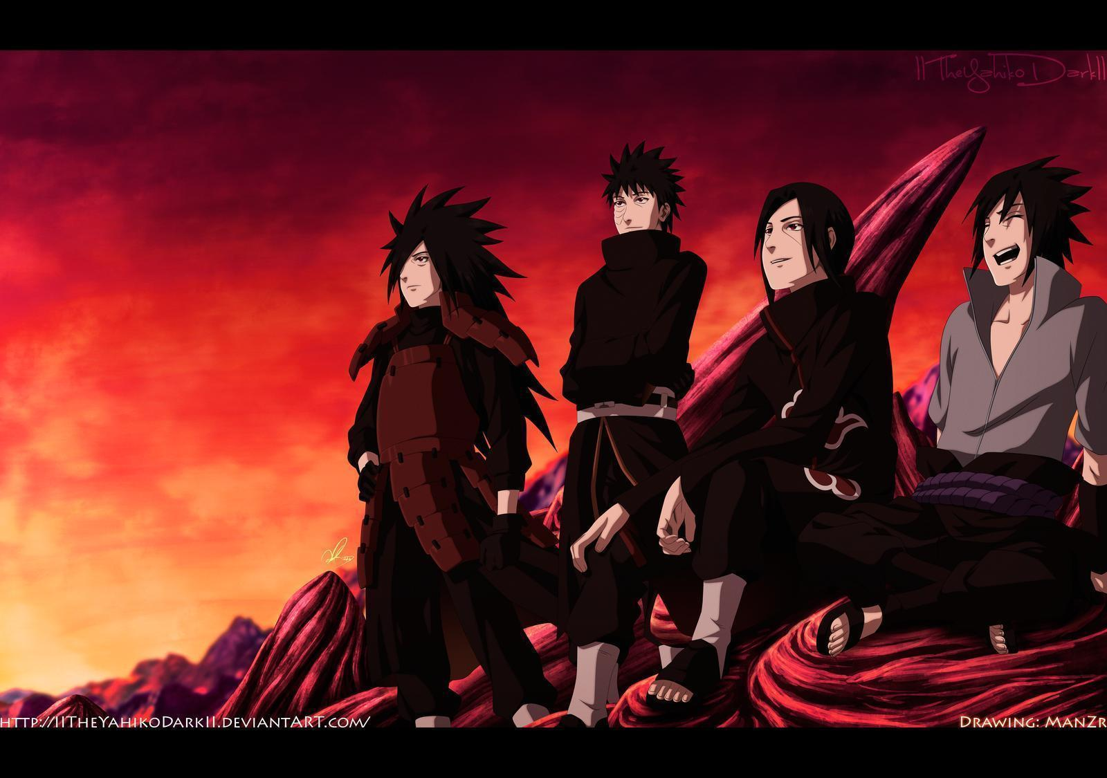 Klan uchiha 2015 wallpapers wallpaper cave - Foto wallpaper ...
