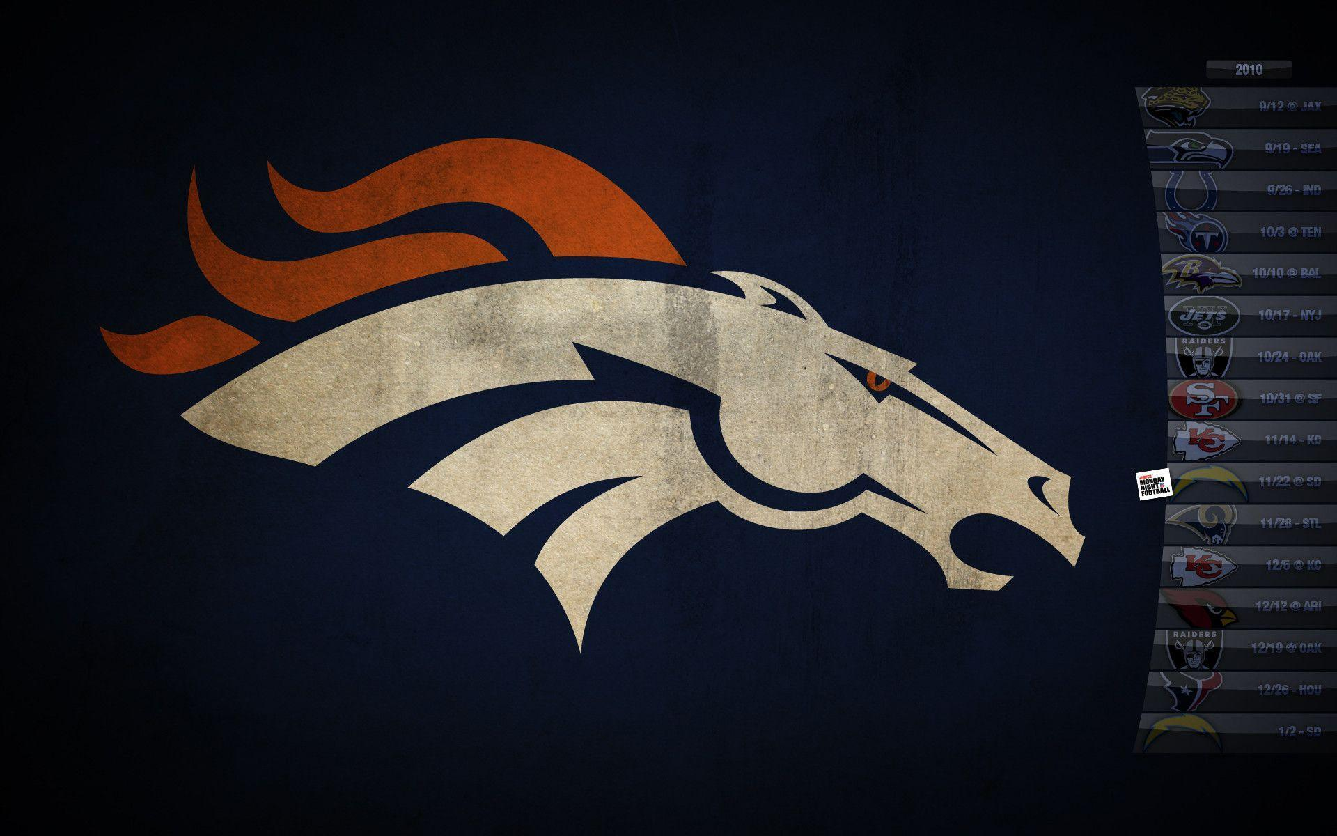 Enjoy our wallpapers of the month!!! Denver Broncos