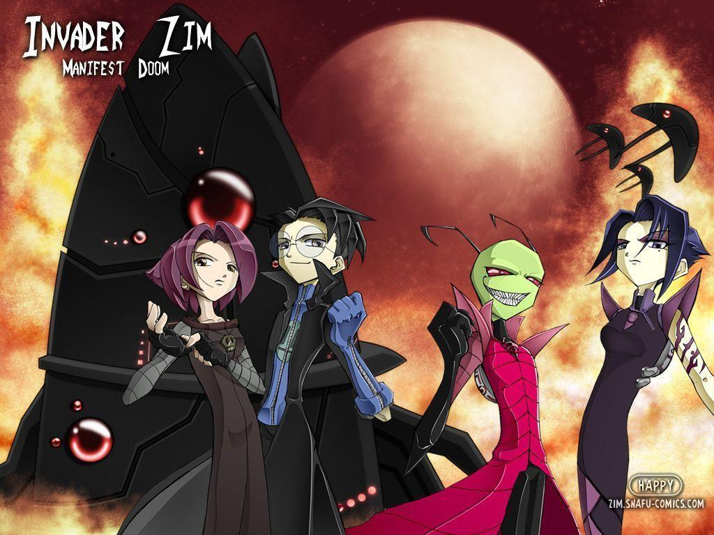 invader zim wallpaper 1024x768 - photo #17