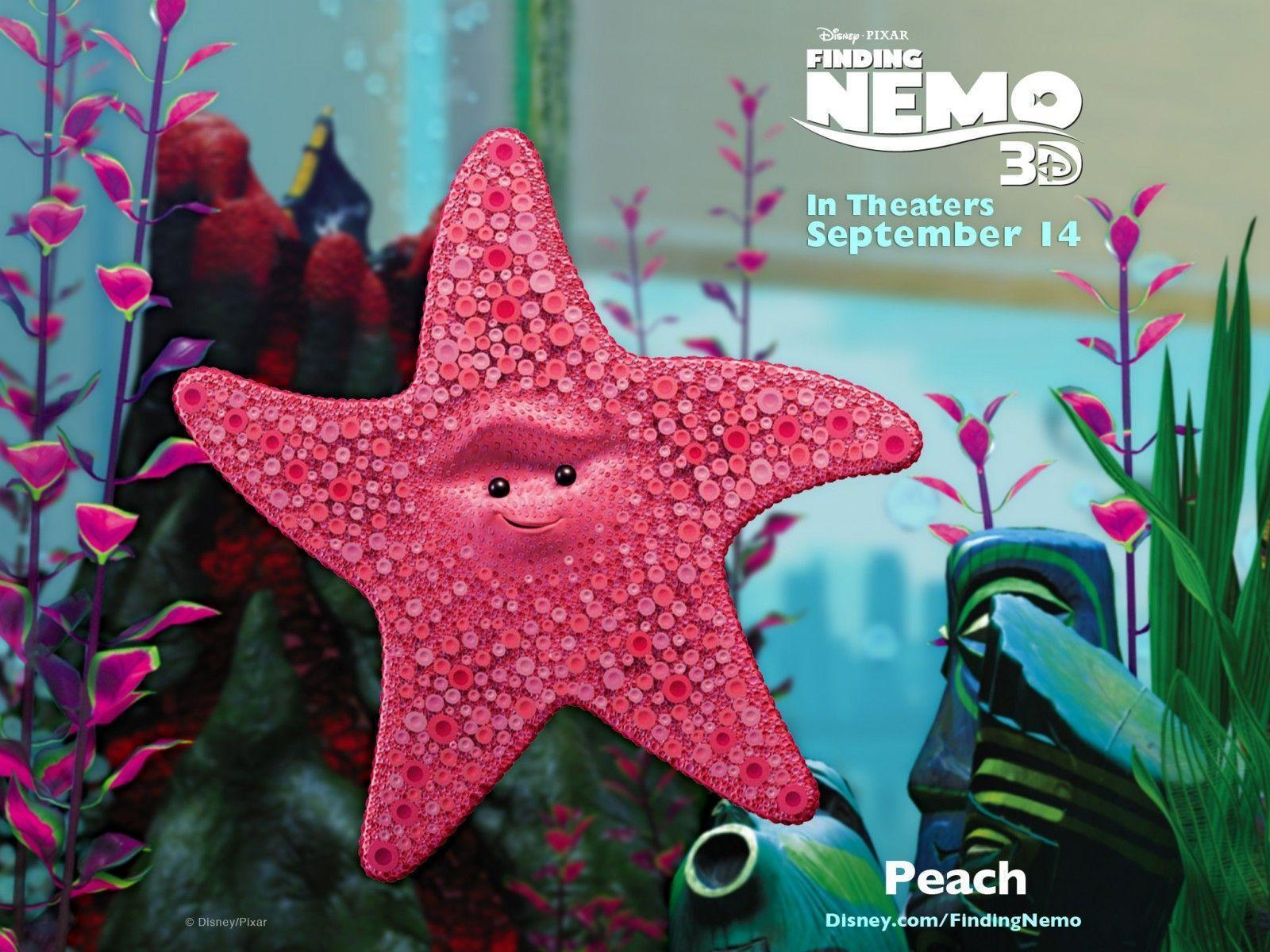 Download Finding Nemo Peach Wallpapers