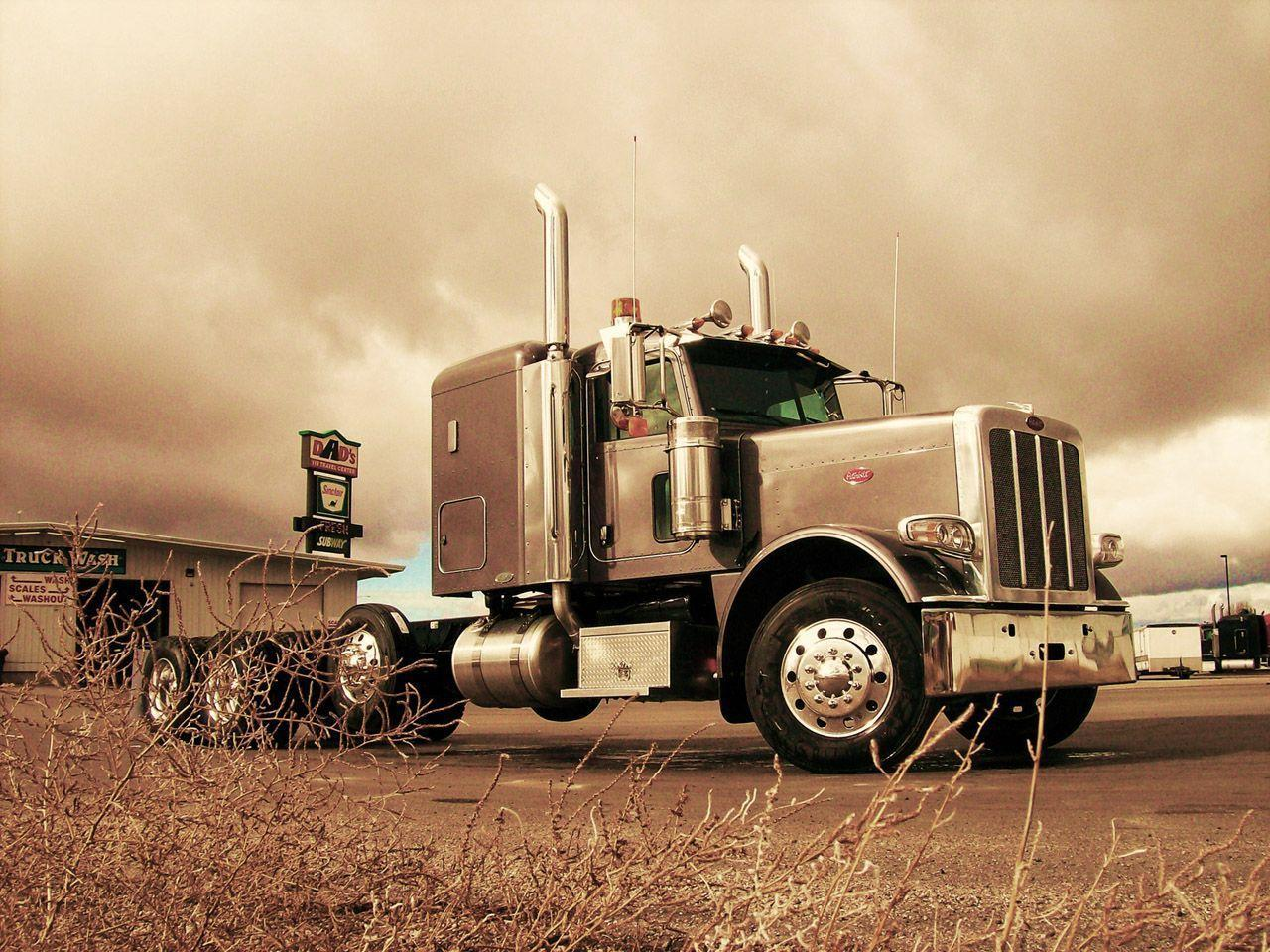 Logos For > Peterbilt Logo Wallpaper Desktop