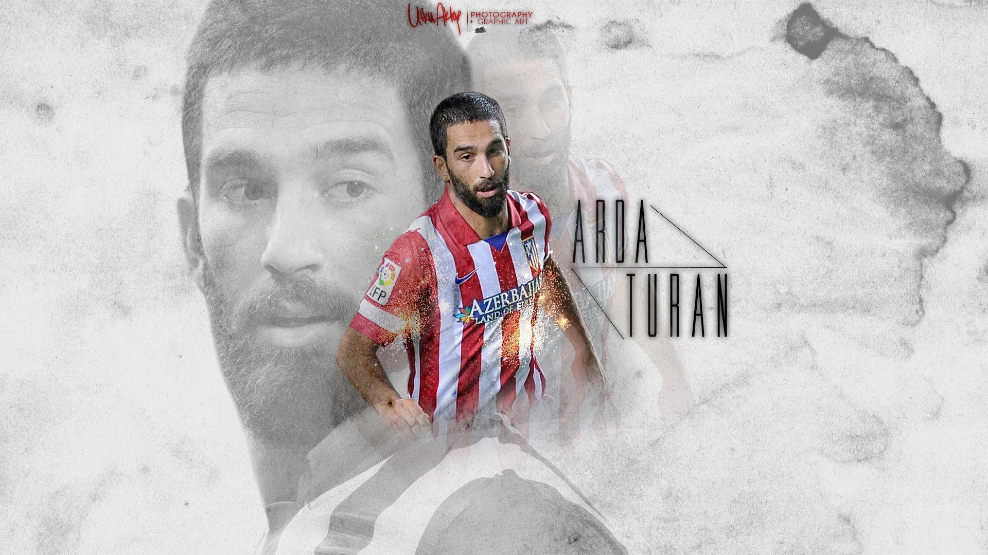 Arda Turan Atletico Madrid HD WALLPAPER 2013 by UtkuGrafik on ...