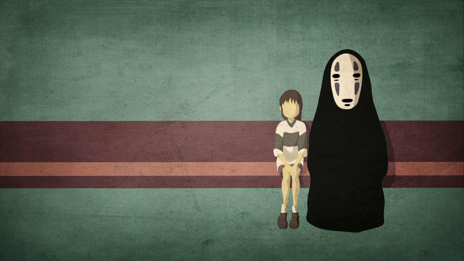 Images For Spirited Away No Face Wallpaper 1920x1080