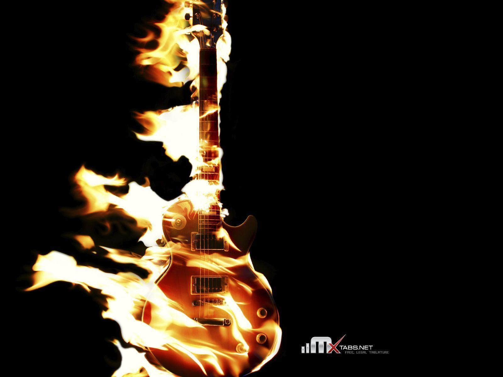 guitar desktop backgrounds wallpaper cave