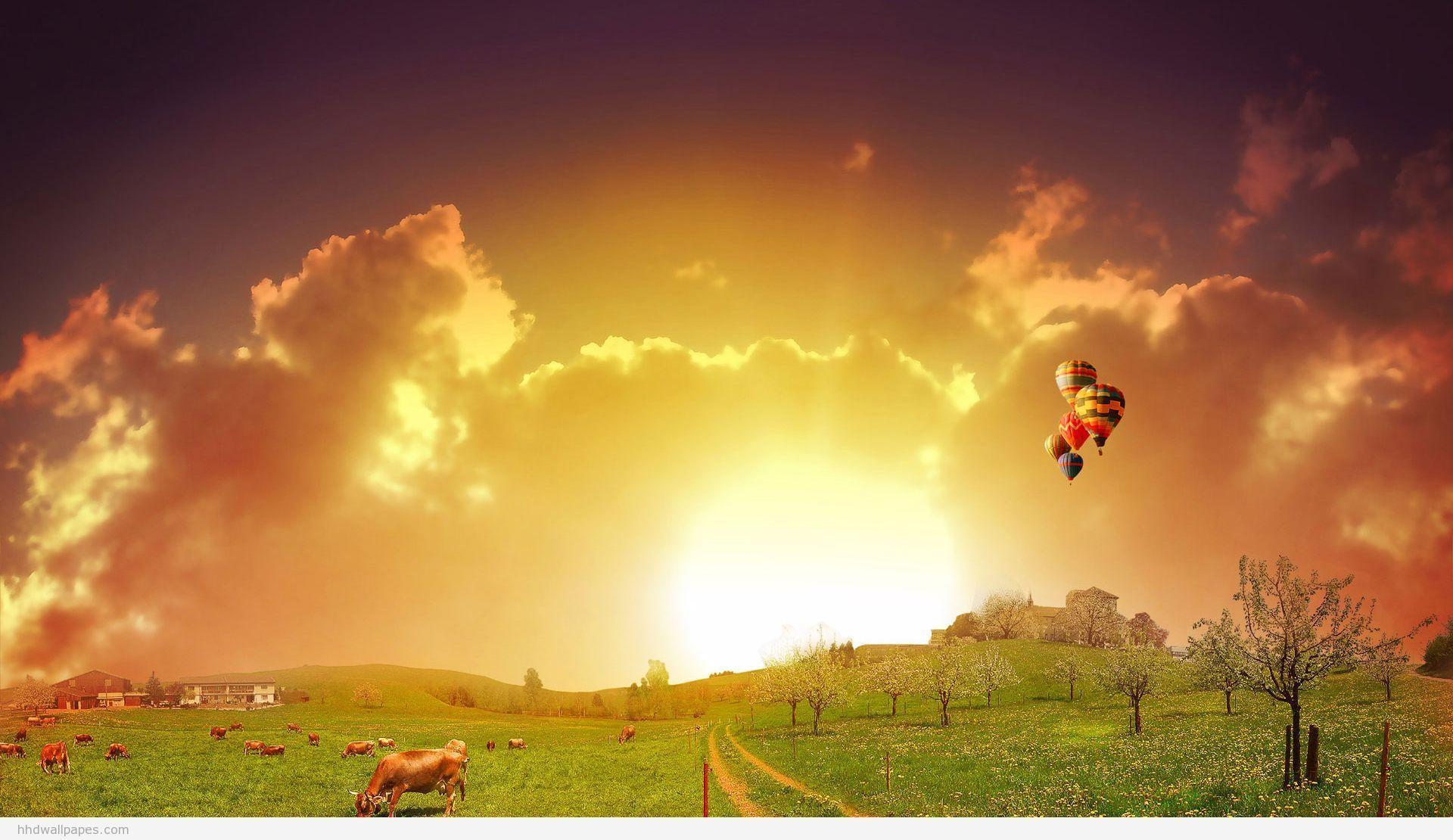 Hd wallpapers for desktop 1080p wallpaper cave - Colorful nature pics ...