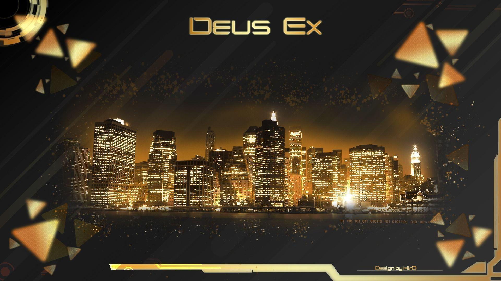 97 Deus Ex Wallpapers