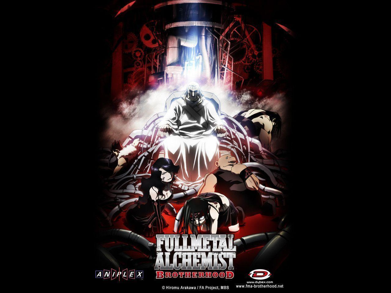 fullmetal alchemist brotherhood wallpapers - photo #36