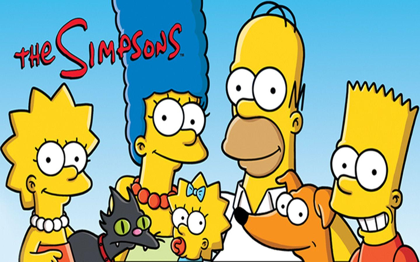 The Simpsons Family Introduction Desktop Wallpapers HD