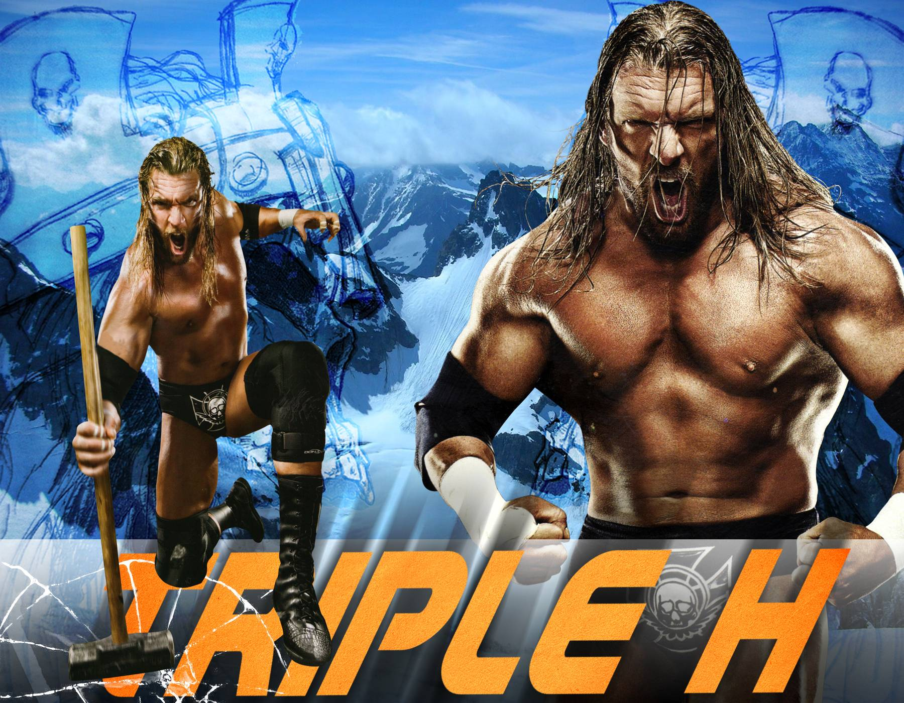DeviantArt: More Like WWE Triple H Wallpapers by Marco8ynwa