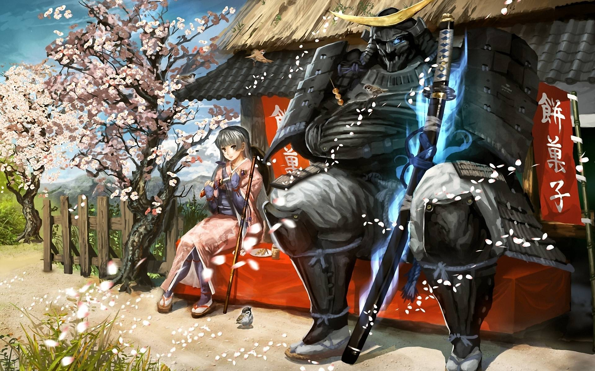 Anime Samurai Wallpapers Wallpaper Cave