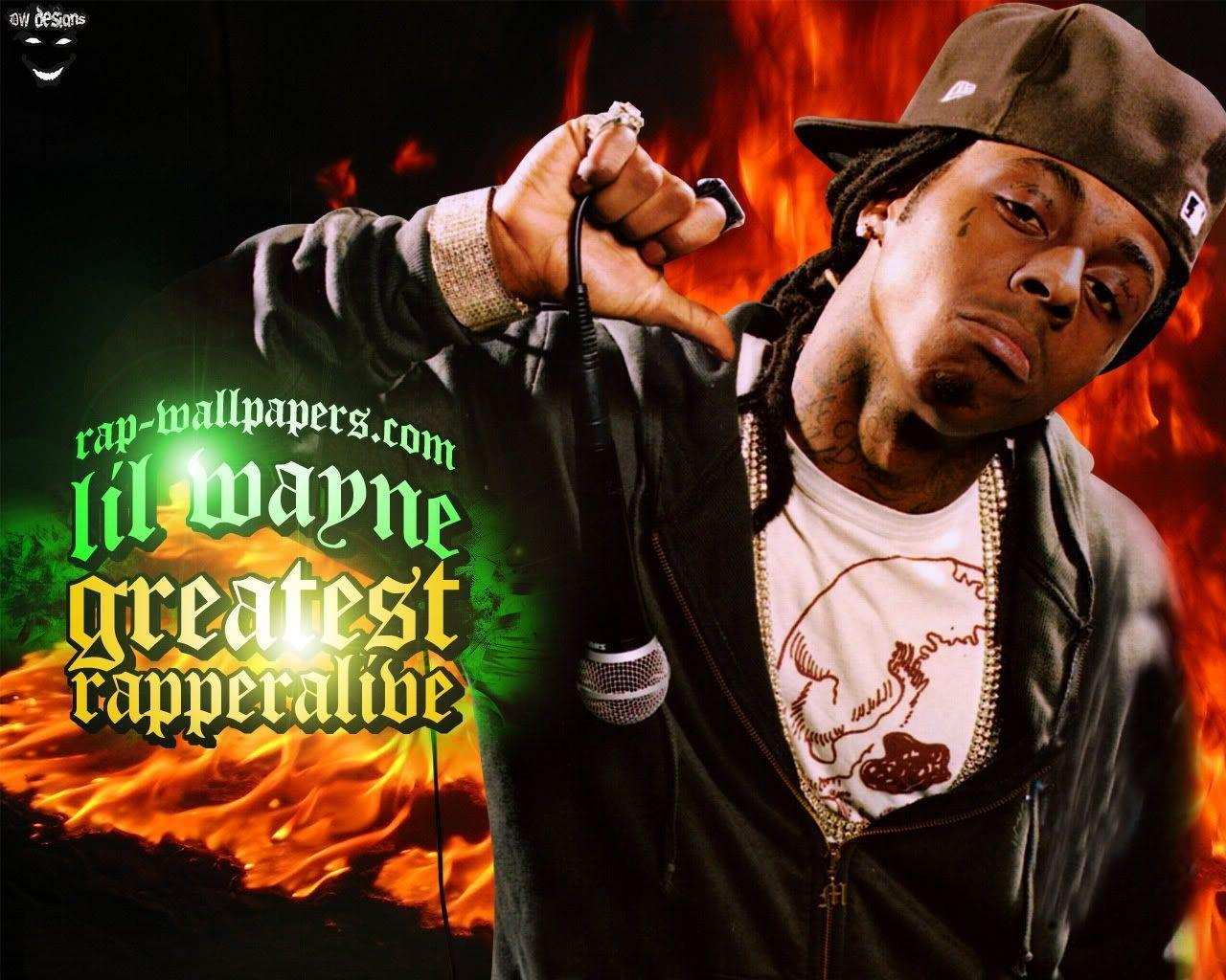 Lil Wayne Greatest Rapper Music Wallpapers
