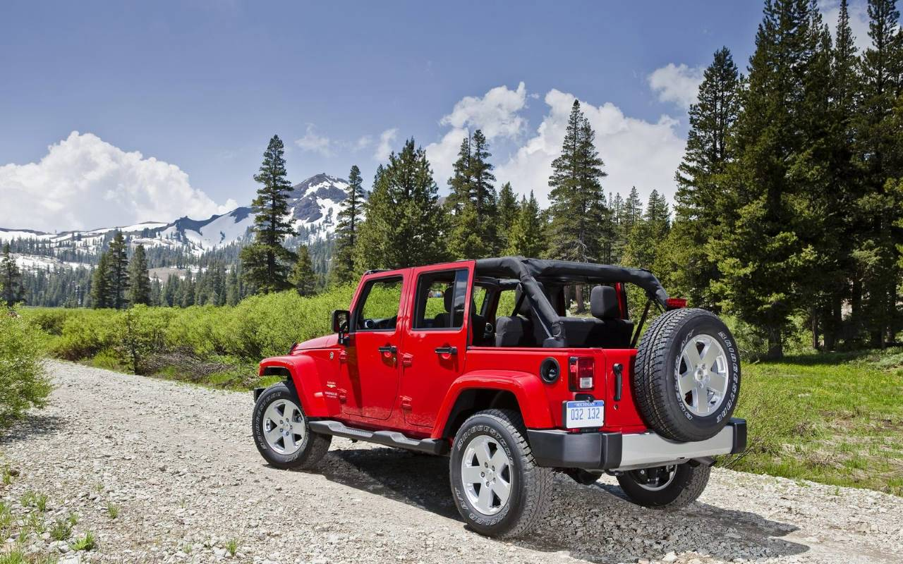Jeep Wrangler Wallpaper Hd Red : Auto Motor Sport Wallpaper HD