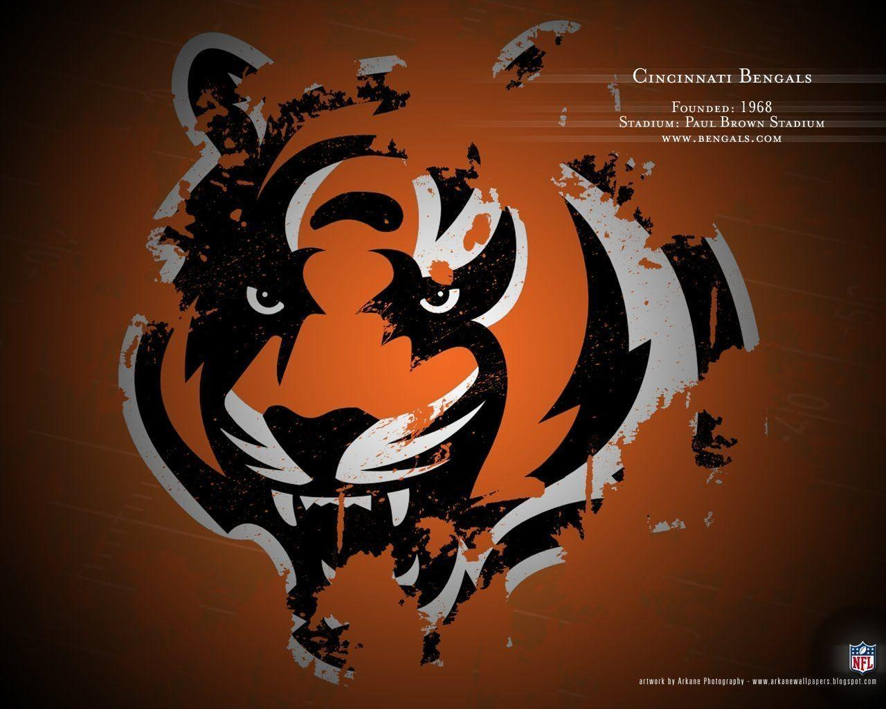 Cincinnati Bengals Logo 2013 Wallpaper Background | Image Browse