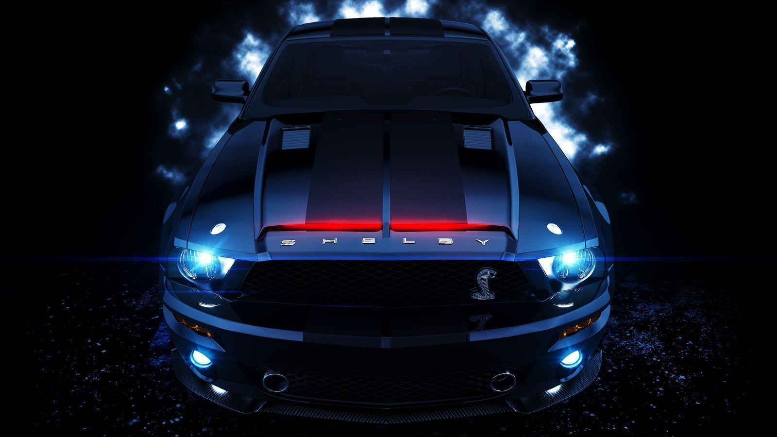 2015 Ford Mustang Shelby Knight Rider HD Wallpapers