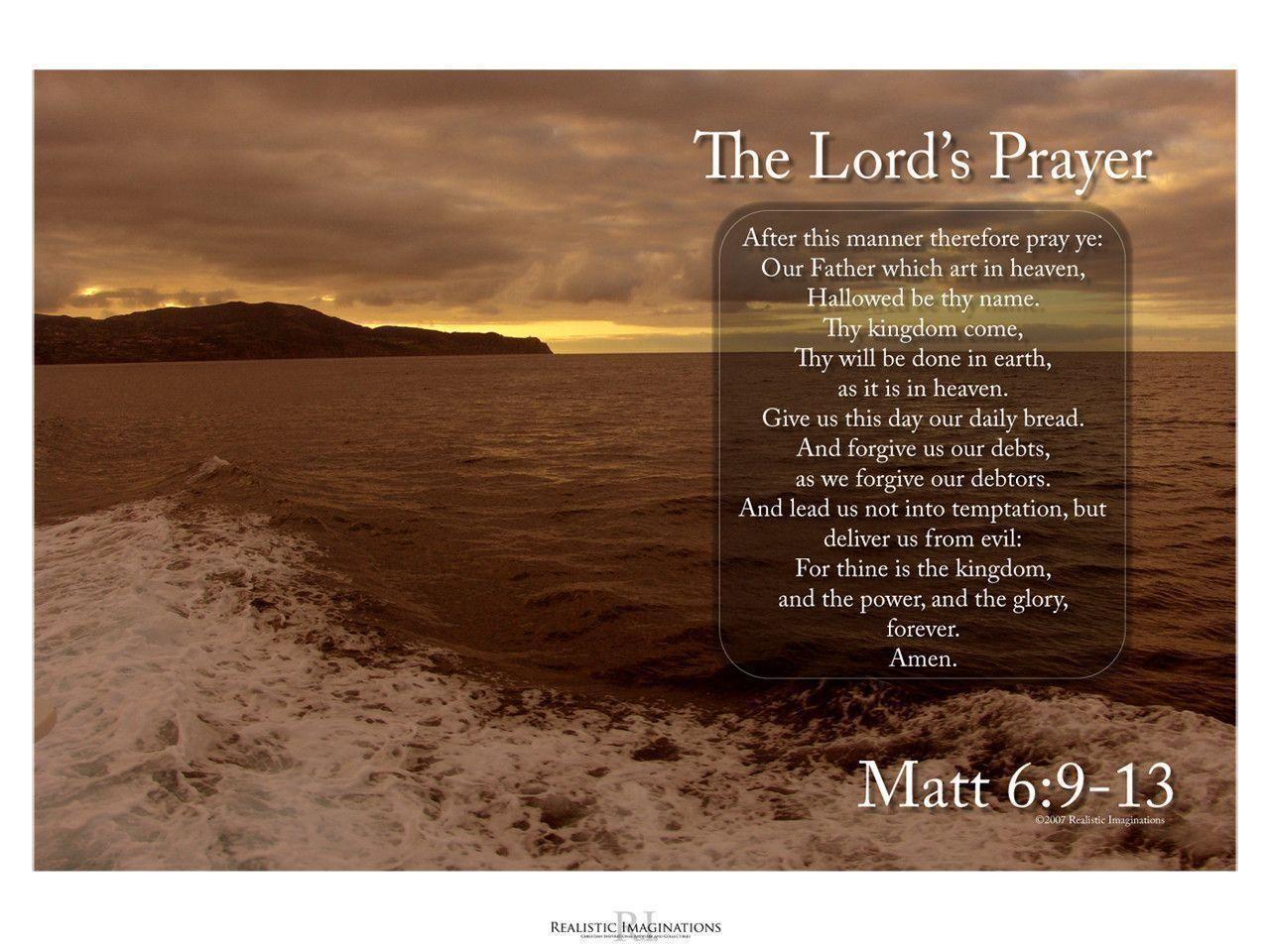 The Lord&Prayer: Matthew 6:9
