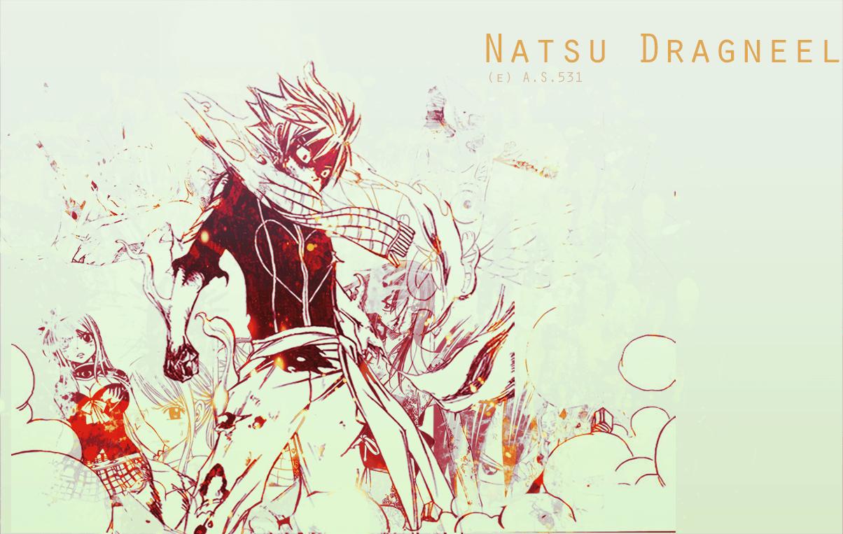 Natsu Dragneel HD Wallpapers Backgrounds Wallpaper