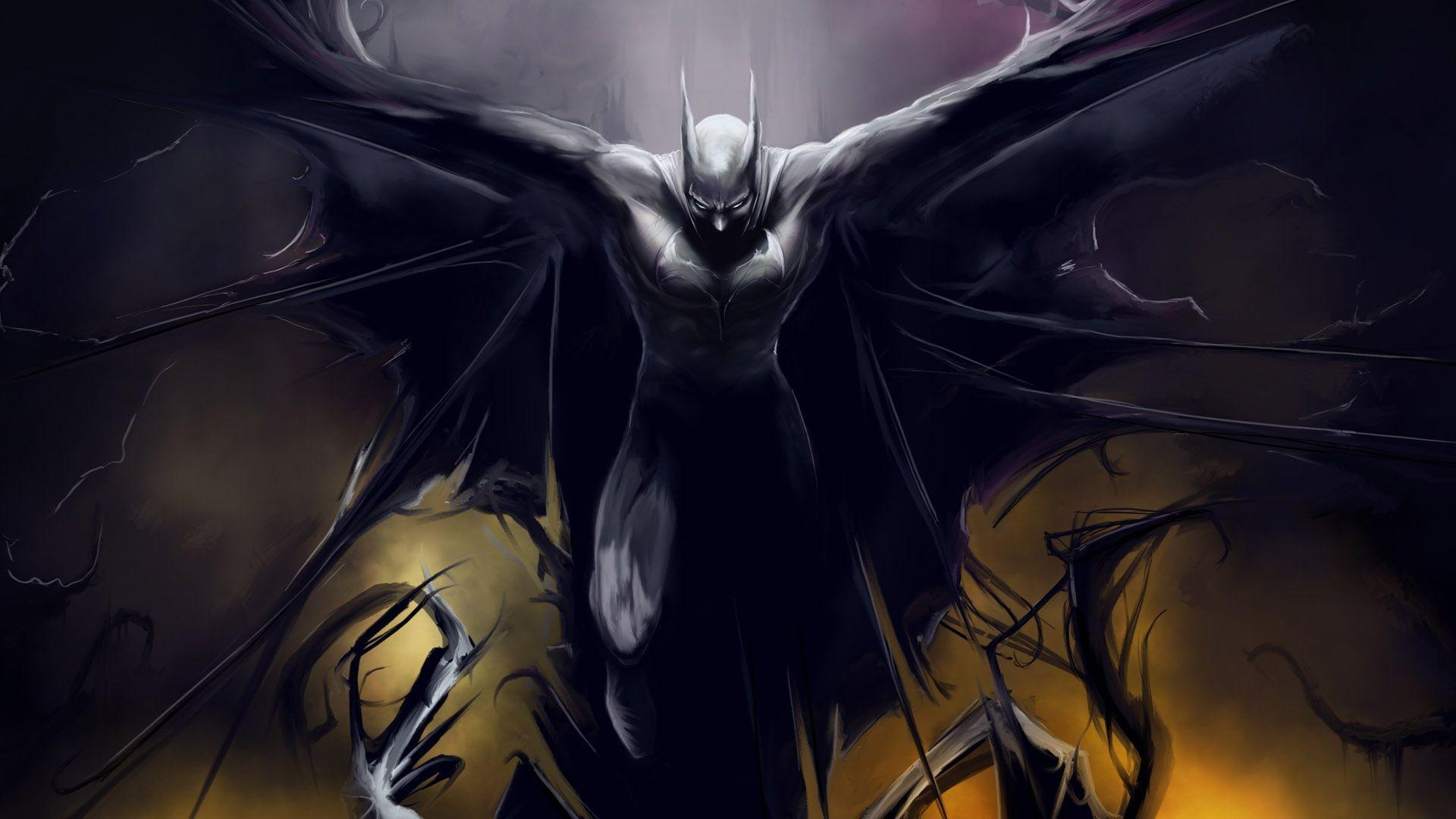 Badass Batman HD Wallpaper