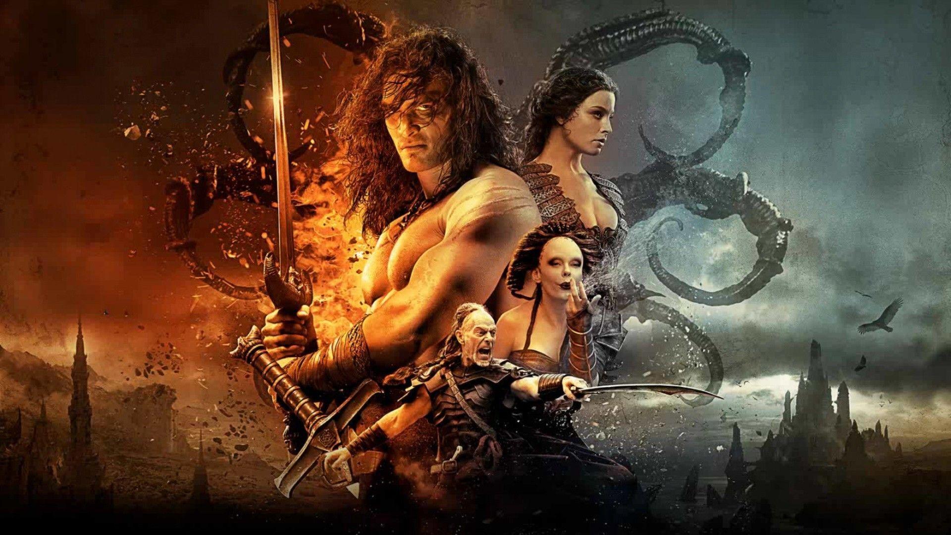 Conan The Barbarian Wallpapers Wallpaper Cave