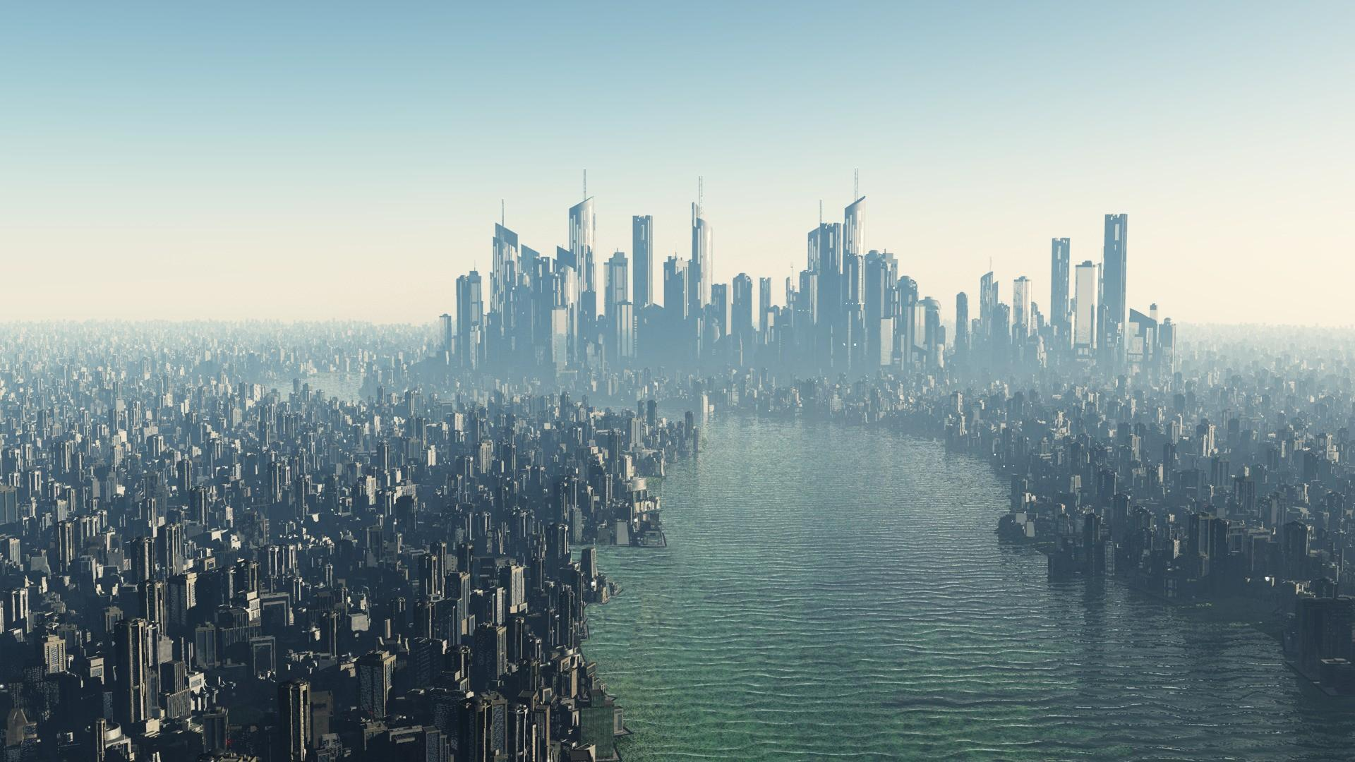 city skyline wallpaper
