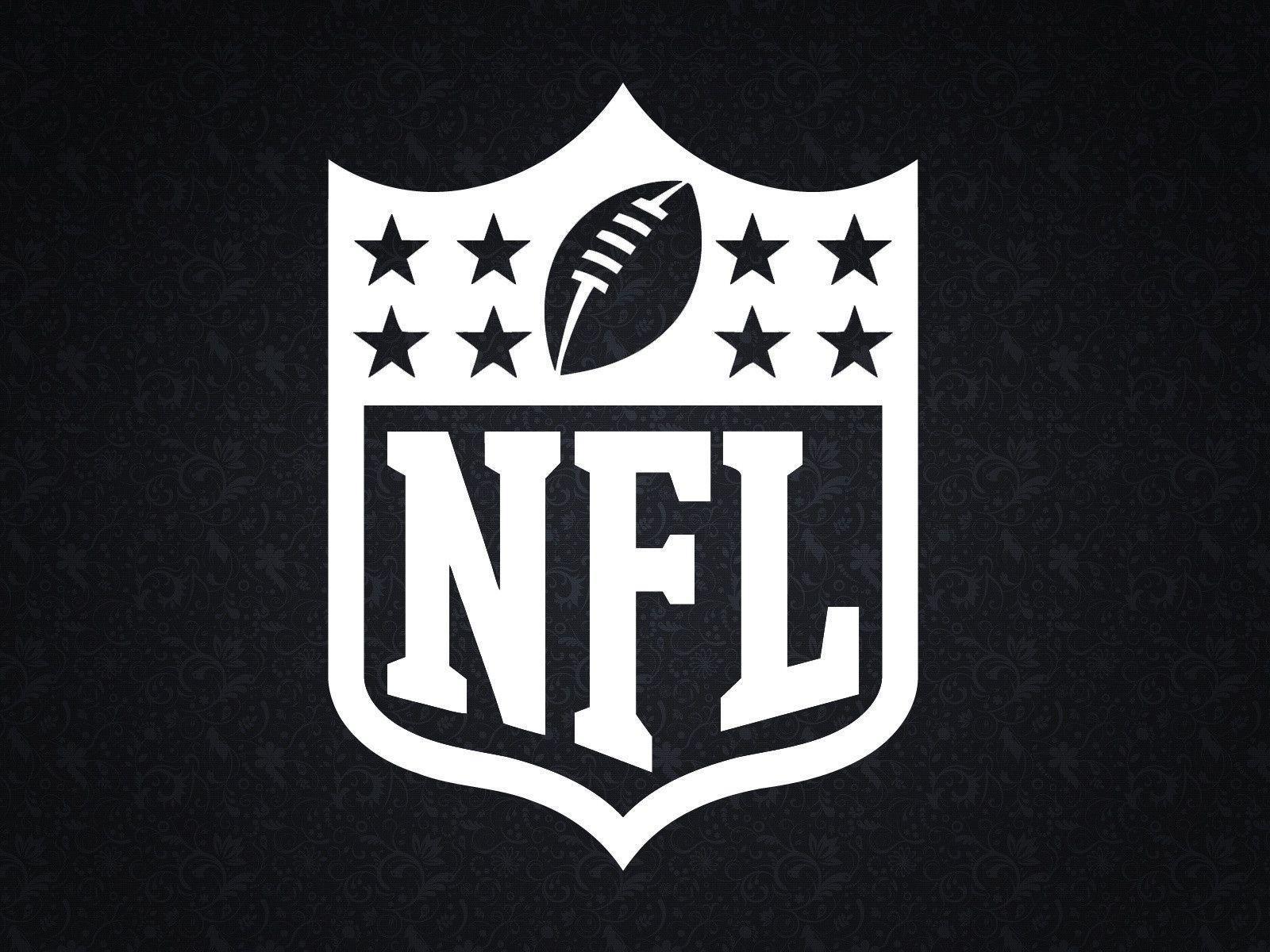 NFL Black Logo Wallpaper 1600x1200