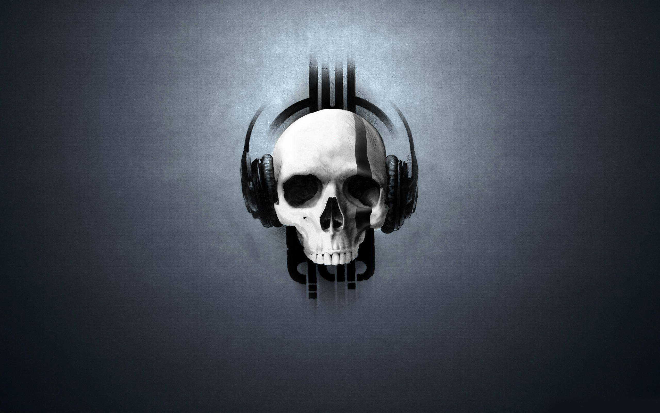 3d skull headphones wallpaper 1600x2560px skull wallpaper skull