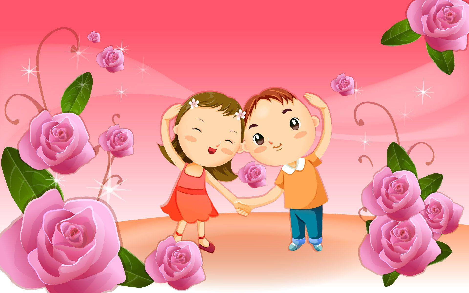 cartoon Type Love Wallpaper : Love cartoon Wallpapers - Wallpaper cave